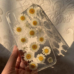 Daisy live flower IPhone Case
