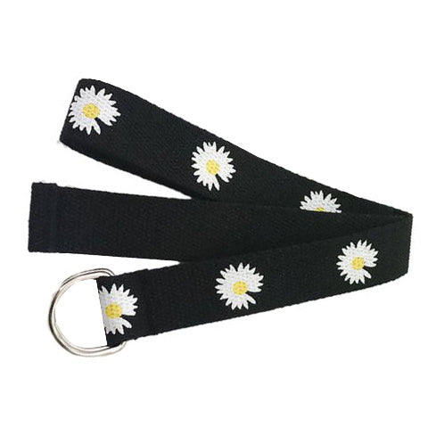 2.0 Daisy Canvas Belt