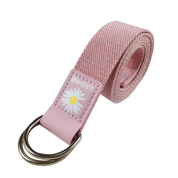 Daisy Canvas Belt