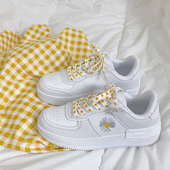 shop daisy sneakers aesthetic boogzel apparel