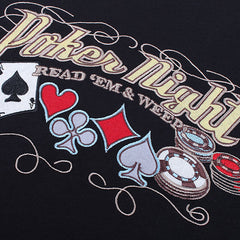 Poker Night Embroidered T-Shirt boogzel apparel
