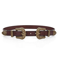 Double Up Buckle Belt