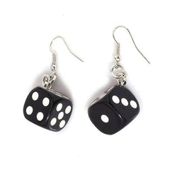 buy dice earrings boogzel apparel