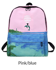 dolphin Backpack boogzel apparel