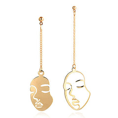 Face Outline Earrings