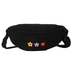 flower embroidery Fanny Pack boogzel apparel