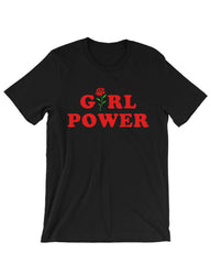 Girl Power T-Shirt black boogzel apparel