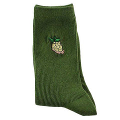 Grape embroidered Socks boogzel apparel