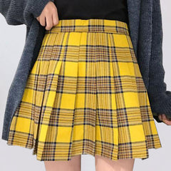 Pleated Prep Skirt