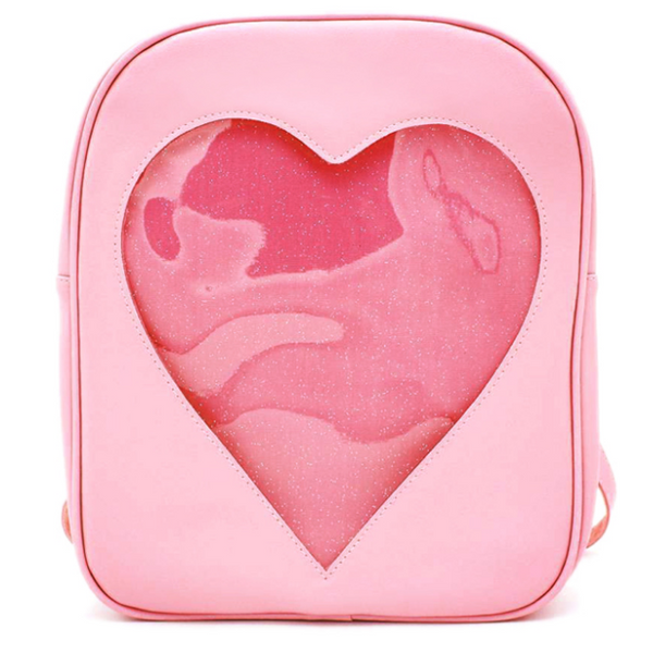 Heart Glitter Backpack