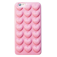 pink Heart Jelly Case Boogzel Apparel
