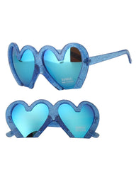 blue heart shaped glasses buy shop usa uk boogzel apparel