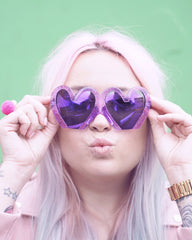 lazy kat heart shaped glasses buy shop usa uk boogzel apparel