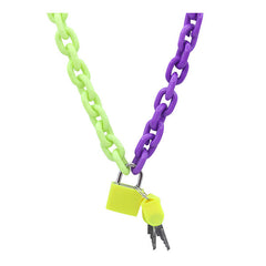 2.0 Neon Chain Necklace