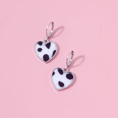 Soft Heart Earrings boogzel apparel