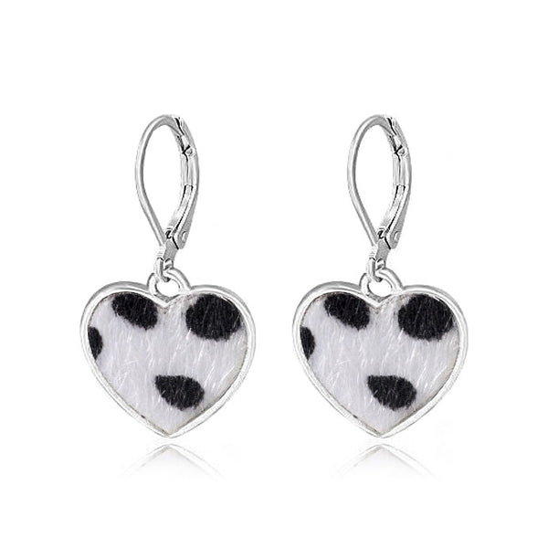 Soft Heart Earrings