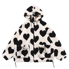 heart hooded jacket boogzel apparel png