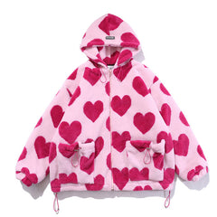 heart jacket boogzel apparel