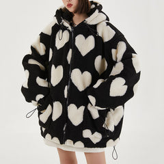 soft grunge aesthetic jacket heart boogzel apparel
