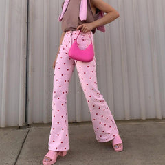 pink heart pants boogzel apparel