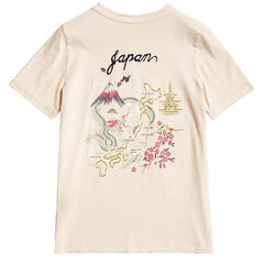 japan map t-shirt boogzel apparel