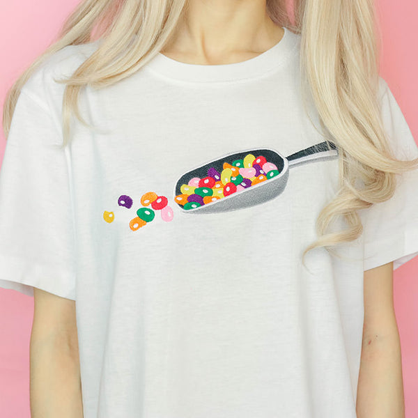 Jelly Beans Tee, Size S