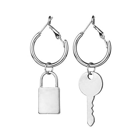 Unlock Ya Mind Key Earrings