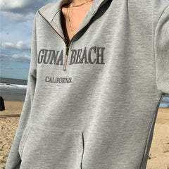Laguna Beach Zip Up Sweatshirt