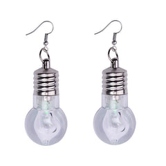 light bulb earrings boogzel apparel