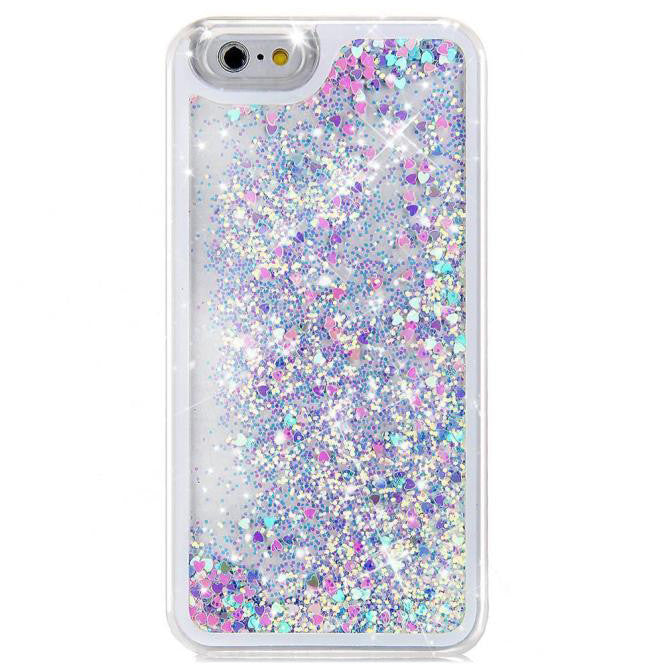 iphone case with glitter inside glitter waterfall iphone boogzel apparel 17630