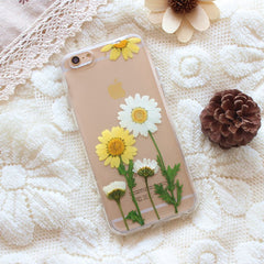 natural flower iphone cover
