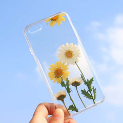 natural flower iphone case
