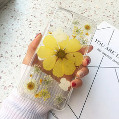 natural flower iphone case boogzel apparel