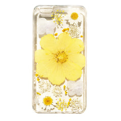 natural pressed flower phone case