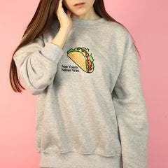 shop tacos sweatshirt boogzel apparel