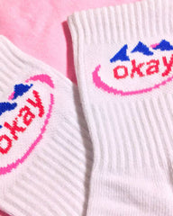 Okay evian socks boogzel apparel