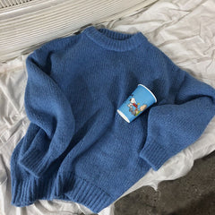 blue sweater boogzel