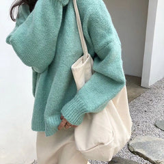 mint sweater boogzel