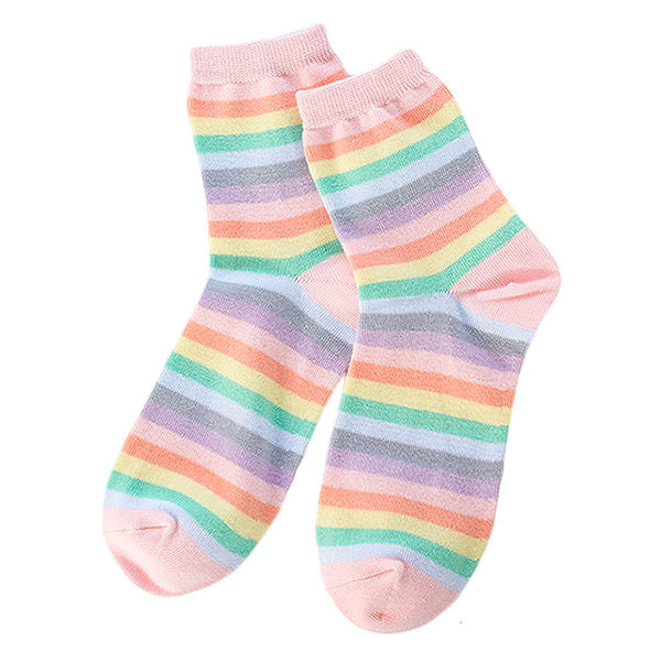 Pastel Rainbow Socks