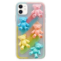 Pastel Bears IPhone Case boogzel apparel