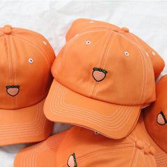 peach baseball hat boogzel apparel