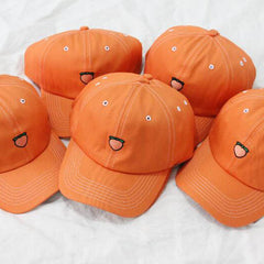 peach embroidery cap boogzel apparel