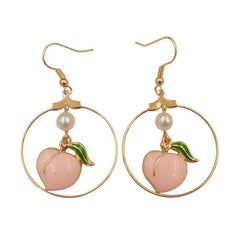 Just Peachy Earrings