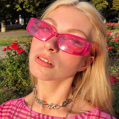 pink aesthetic sunglasses boogzel apparel