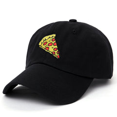 black Pizza slice hat cap tumblr boogzel apparel