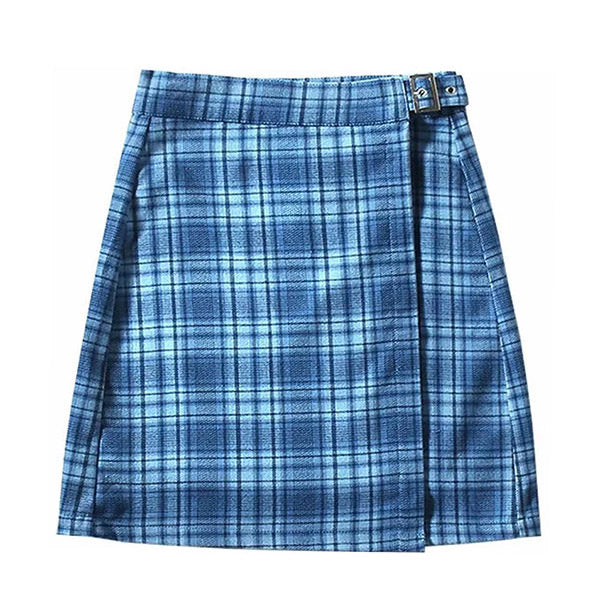 Sweet Dress Code Plaid Skirt