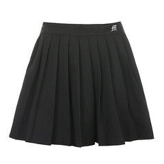Naughty List Pleated Skirt