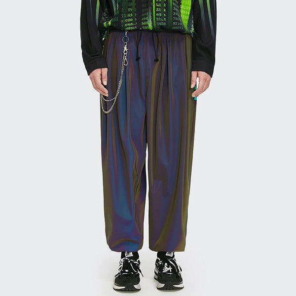 Reflective Wide Pants
