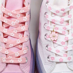 cherry blossom shoe laces boogzel apparel