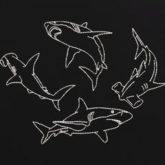 Shark Embroidered T-Shirt